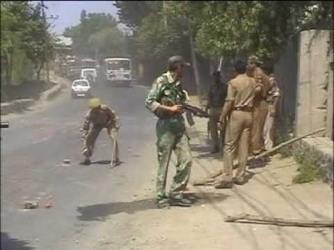 Indian Brutalities Pampora Kashmir