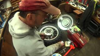 8. Fixing the yz85 back wheel and a KTM 250 2stroke!!!!!!   3/8/16