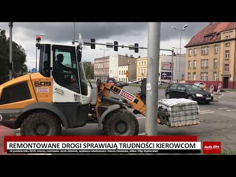 Wideo1: Kierowcy na remontowanych drogach Leszna