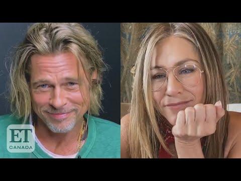 Jennifer Aniston, Brad Pitt's Flirty Reunion