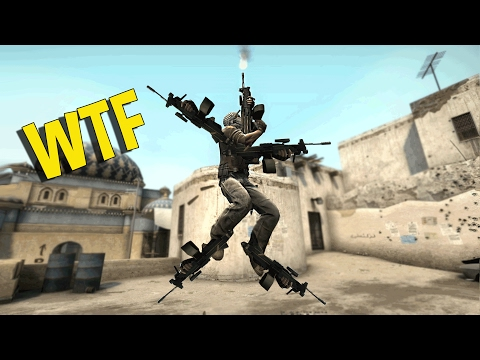 CS:GO - UNCONTROLLABLE AIMBOT CHEATER (OVERWATCH FUNNY MOMENTS) (видео)