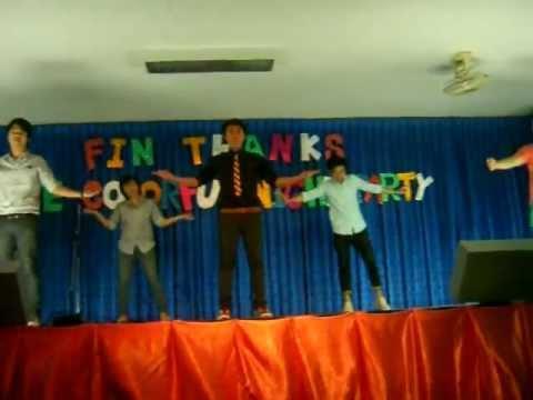 FIN THANKS 2555 - FIN17 DANCE (видео)