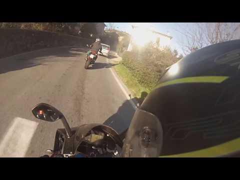 Aprilia RS 125 - Danziamo fra le curve del San Baronto