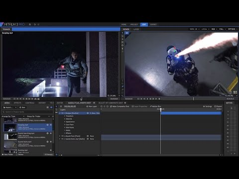 Project One - get started in HitFilm Pro