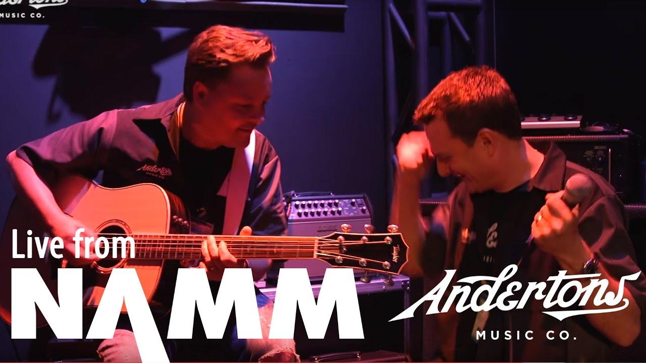 Boss DS-1, Strandberg Guitar and Acoustic Amps at NAMM 2017