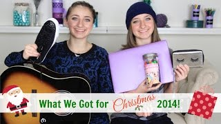 What We Got for Christmas 2014 | Brooklyn and Bailey
