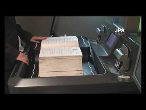 Scanare si digitizare registre notariale cu scanner-ul de carte Copibook