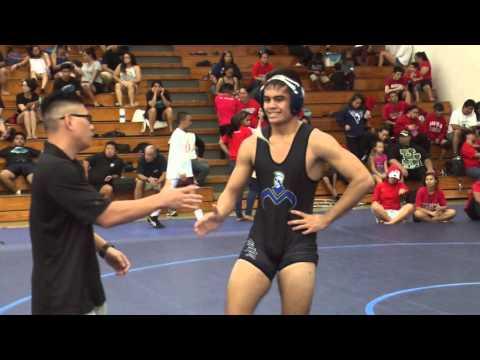 Moanalua Boys & Girls Wrestling at Moanalua Gym - Saturday, 01-23-16 (видео)