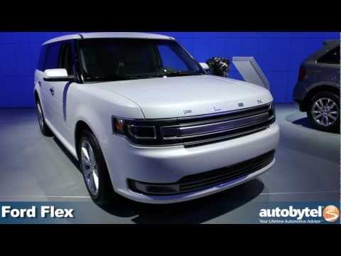 Ford Flex at the 2012 Detroit Auto Show video