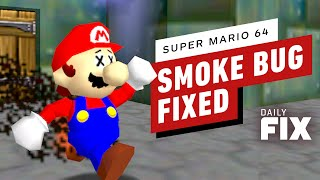 Weird Smoke Bug Fixed In Super Mario 64 - IGN Daily Fix by IGN