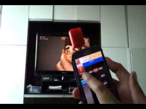 Video of MyRemoconX Universal IR Remote