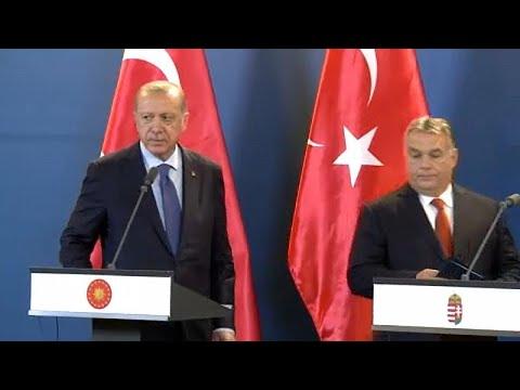 Ungarn/Türkei: Erdogan besucht Budapest - er wird von einem Freund empfangen