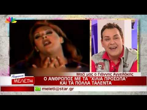 Video - Πέθανε ο μακιγιέρ και σόουμαν Γιάννης Αγγελάκης