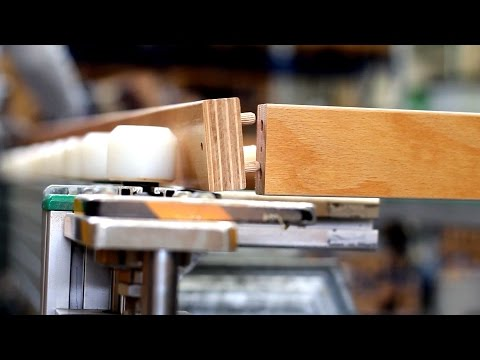 Come vengono prodotte le reti telaio in legno