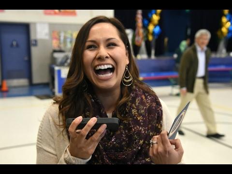 Jessica Villanueva Wins California Milken Educator Award & $25,000