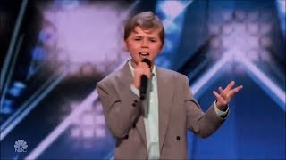 Video Rapper 13-Year-Old Shocks Judges With His Original Song On America's Got Talent MP3, 3GP, MP4, WEBM, AVI, FLV Oktober 2018