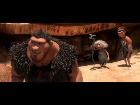 Who's Hungry? [Best Scene]-The Croods. (Full-HD)