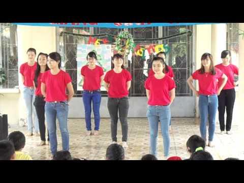 Chicken dance+6 bước rửa tay (Giáng sinh hồng-CTXH COFER)
