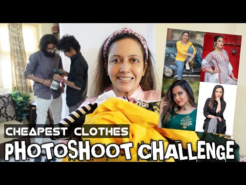 Photoshoot In Rs 300 Outfit 🙈 Toughest Challenge For An Actor 😀