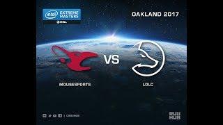 mousesports vs LDLC - IEM Oakland 2017 EU Quals - map1 - de_nuke [yXo, Enkanis]