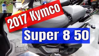 10. 2017 Kymco Super 8 50 quick look