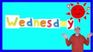 Wednesday Song for Children, Days of the Week Songs