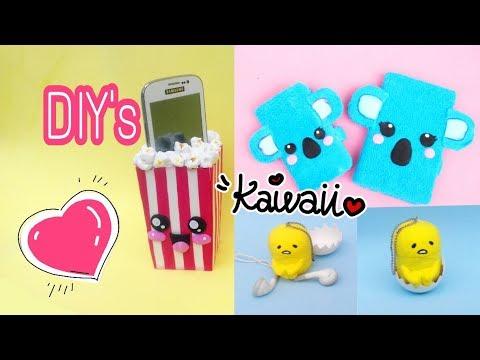 Imagens de feliz páscoa - DIY KAWAII com material reciclado/ 6 ideias para celular Ft Diy com Fabiana Nogueira