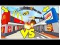 LA GUERRA TRA MCDONALD'S E BURGER KING! - Minecraft ITA