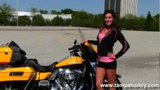 8. New 2013 Harley-Davidson FLHTK Electra Glide Ultra Limited - Yellow and Black