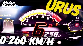 Lamborghini Urus launch control : 0-260 km/h ! by Motorsport Magazine