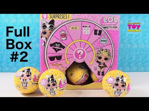 LOL Surprise Full Box #2 Series 3 Toy Doll Review Unboxing   PSToyReviews (видео)
