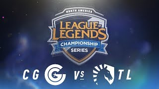 Video CG vs. TL - Week 8 Day 2 | NA LCS Spring Split | Clutch Gaming vs. Team Liquid(2018) MP3, 3GP, MP4, WEBM, AVI, FLV Juni 2018
