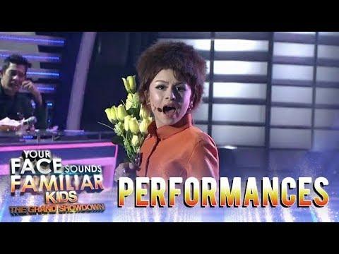 Your Face Sounds Familiar Kids 2018 Esang De Torres as Barbra Streisand  Dont Rain On My Parade