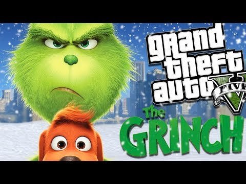 THE NEW GRINCH MOVIE MOD w/ SANTA CLAUS (GTA 5 PC Mods Gameplay)