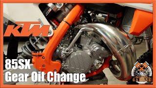 9. 2019 KTM 85SX Gear Oil Change