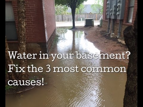 French Drain Tips - Water in Basement & Crawl Space -