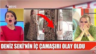 Download Video Deniz Seki'nin iç çamaşır skandalı / Serenay Sarıkaya'dan olay paylaşım/ Fuhuşa düşen kızdan feryad MP3 3GP MP4