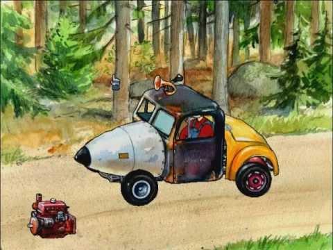 Mulle Meck bygger biljävlar!