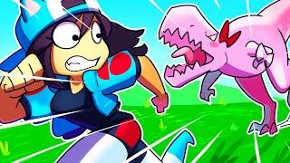 T-Rex Kawaii~Chan ATTACKS! - [FORTNITE PROP HUNT]