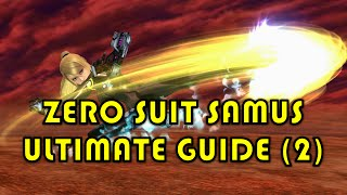 Aerial Queen – The Definitive Zero Suit Samus Tutorial, Part 2