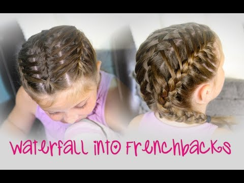 Waterfall into Double Frenchbacks   Sport Hairstyles