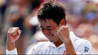 Tennis Highlights, Video - [HD]Kei Nishikori After Match interview Vs Novak Djokovic US OPEN 2014