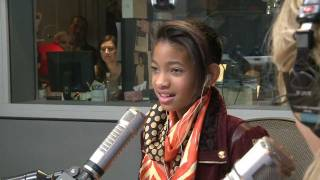 Willow Smith Talks Nicki Minaj, New Album, & Fashion | Interview | On Air With Ryan Seacrest - YouTube