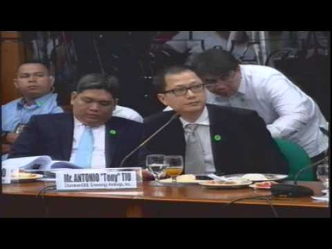Blue - Agenda: P.S. Res. No. 826 - Alleged overpricing of the 11-storey new Makati City Hall II Parking Building.