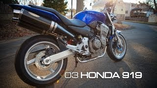 8. 2003 Honda 919 with Sato Exhaust CB900F Motorcycle