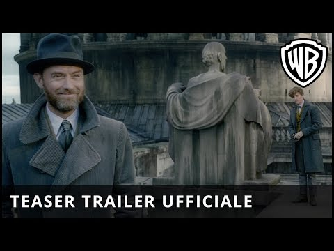 Preview Trailer Animali Fantastici 2: I Crimini di Grindelwald, teaser trailer italiano