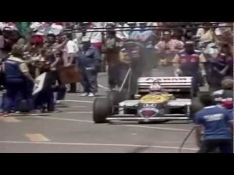 tribute to nigel mansell - the lion of england!