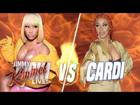 Are You with Cardi B or Nicki Minaj?