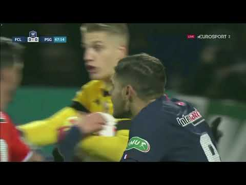 Le résumé de FC Lorient - Paris SG (0-1) CdF 19-20