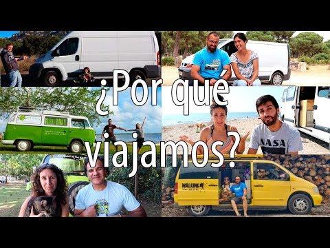 Viajar en Furgoneta - Tributo al Espíritu Nómada - Entrevistas a Viajeros
